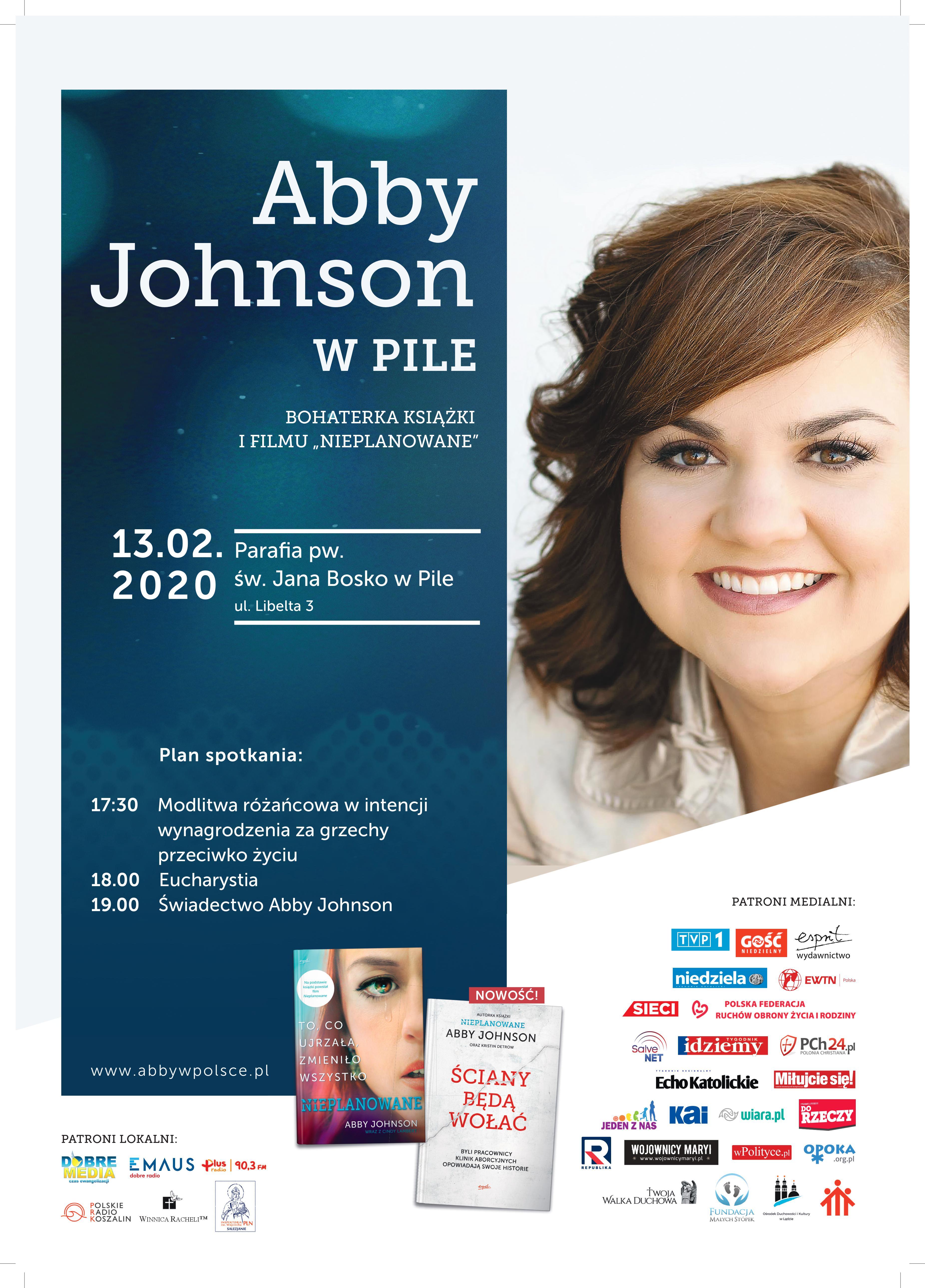 Abby Johnson w Pile