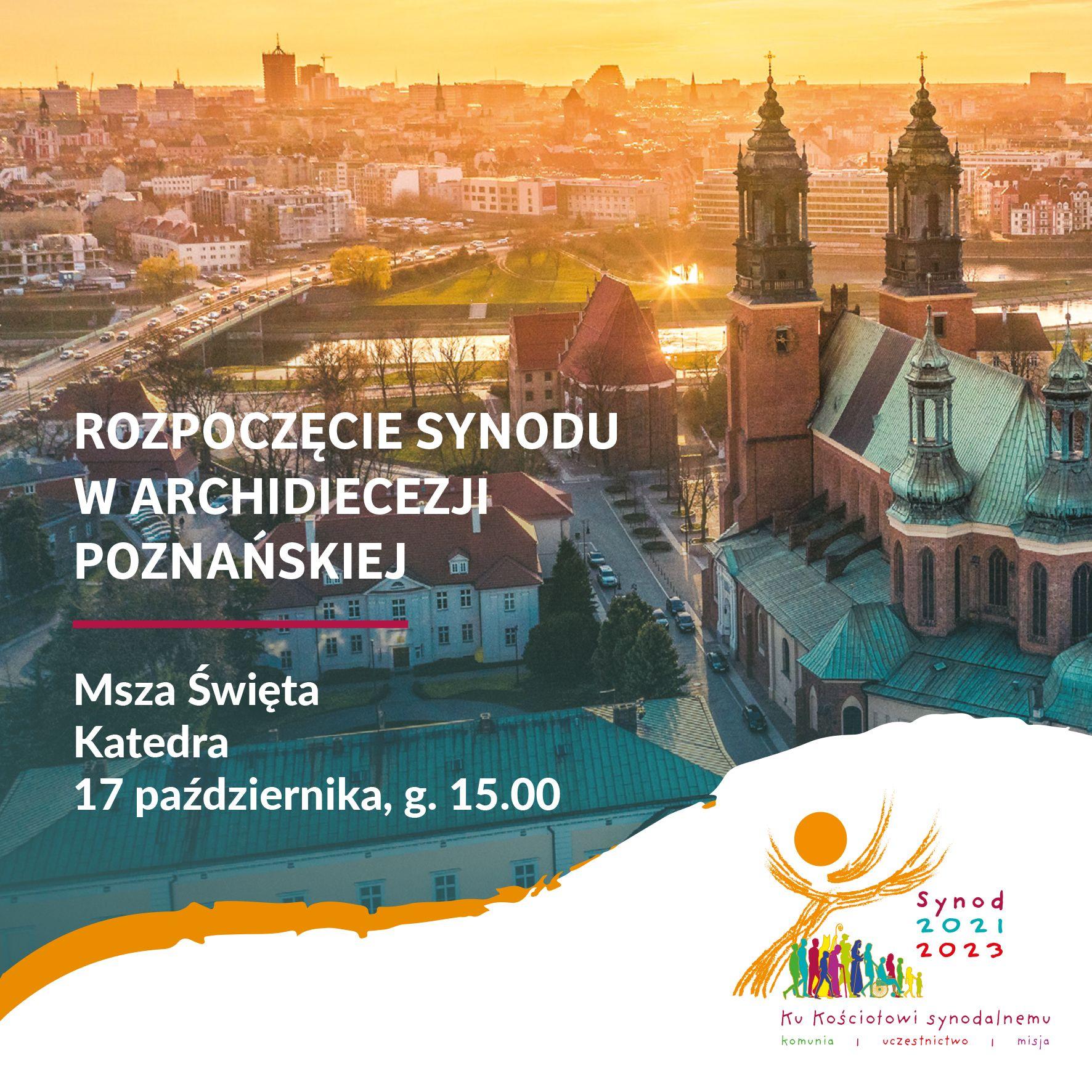 Rozpoczęcie Synodu w Archidiecezji Poznańskiej